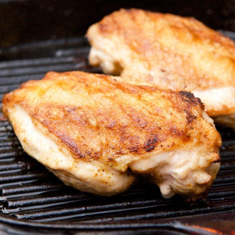Chicken Breast (Skin On / Boneless) 2 x 180g+