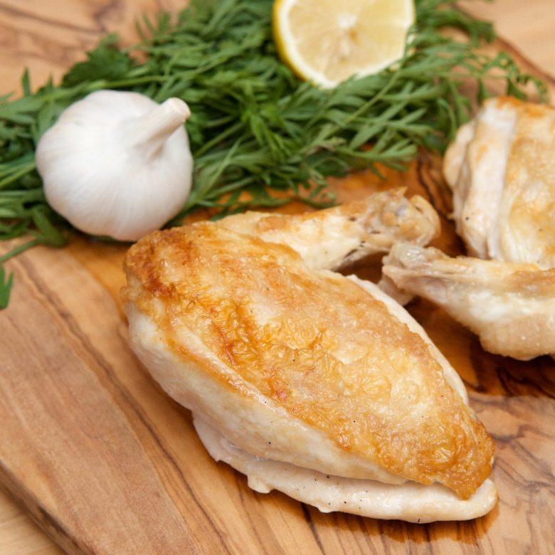 2 x Chicken Breast (Skin On / Bone In) 200g+