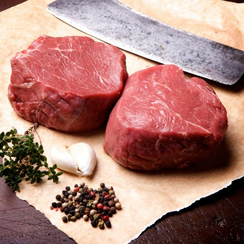 2x 200g+ / 7oz Prime Beef Fillets