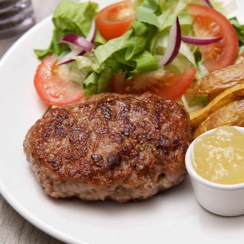 Homemade Pork & Apple Burgers 5x 114g (4oz)