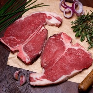 Prime Cut T-Bone Steak 392g+ / 14oz+