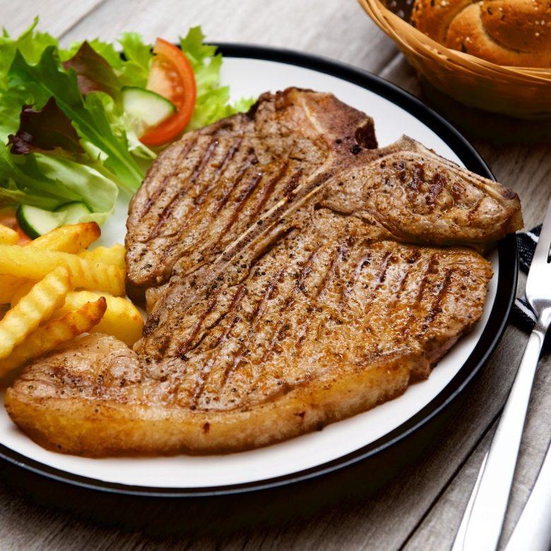 Prime Cut T-Bone Steak 392g+ / 14oz+