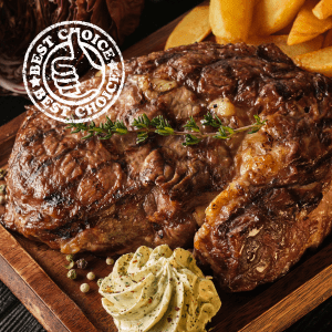 Big Daddy Ribeye Steak 336g-392g / 12-14oz