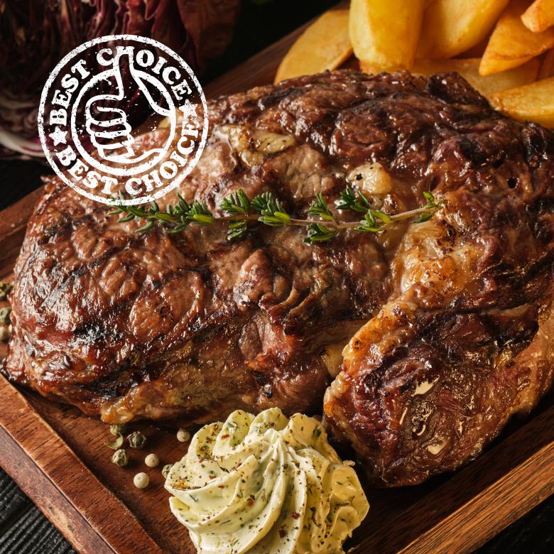Big Daddy Ribeye Steak 336g-392g / 12-14oz