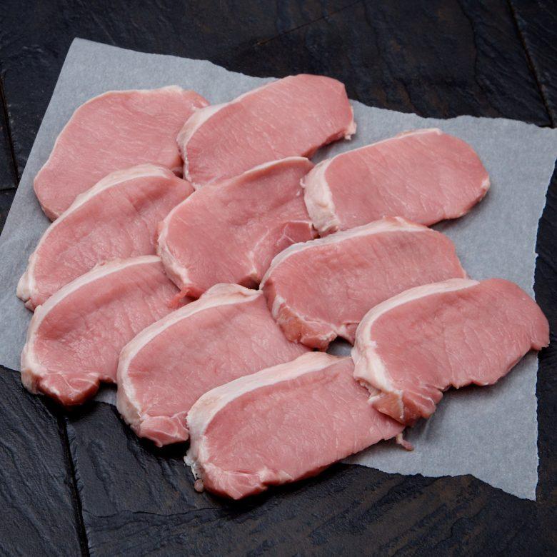 Pork Loin Steaks 10x 120g