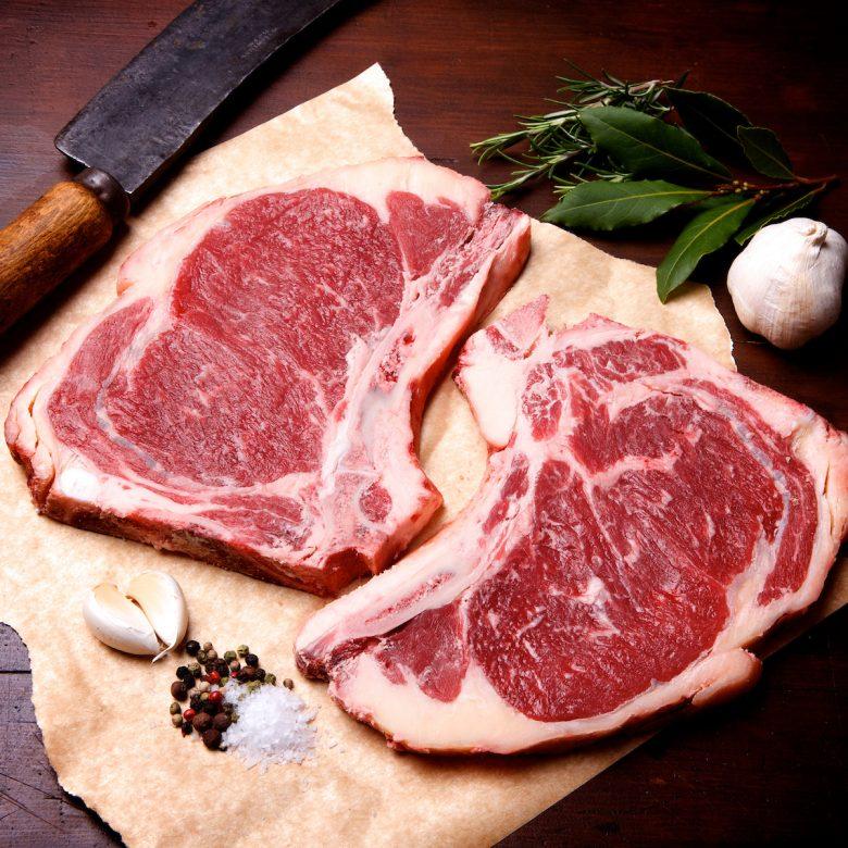 Cowboy Steak 300g+