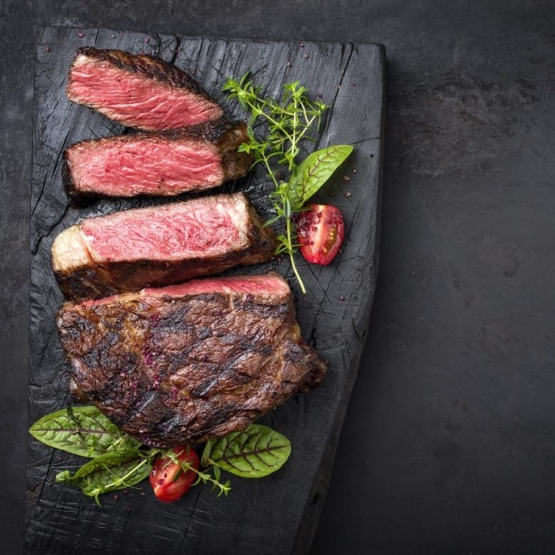 Delmonico Water Grass Hill Ribeye Steak