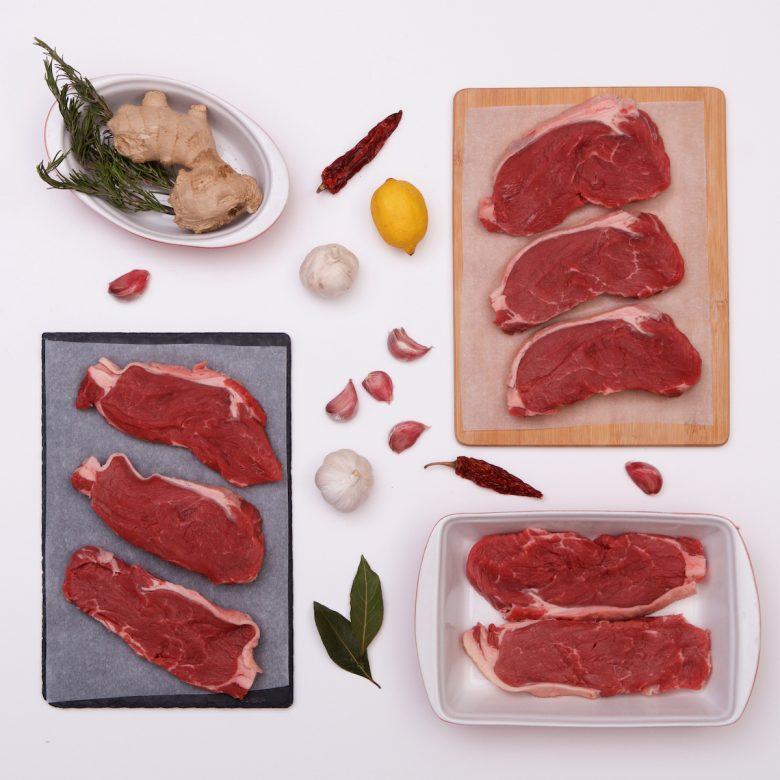 8 x 7-8oz / 200g+ Premium Irish Sirloin Steaks
