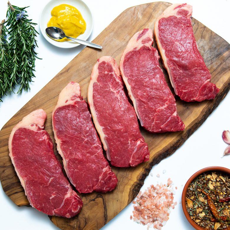 5 x 9-10oz Watergrass Hill Sirloin Steaks