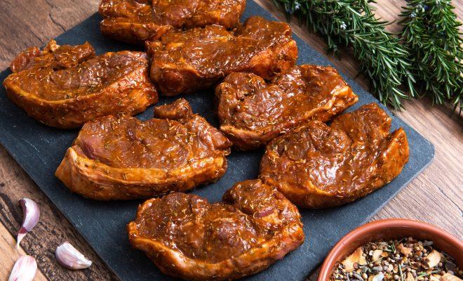 Garlic & Rosemary Lamb Rump Steaks