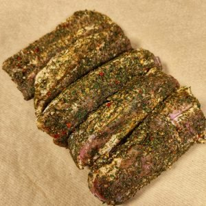 Chimichurri Pork Belly Slices 1kg+