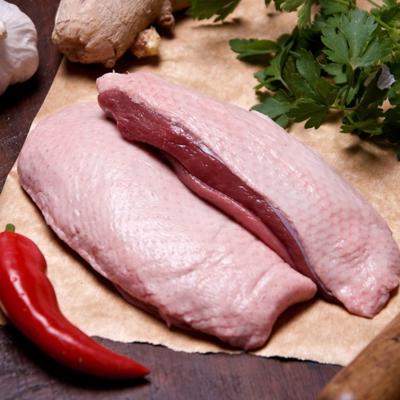2 x 200g+ Duck Breasts