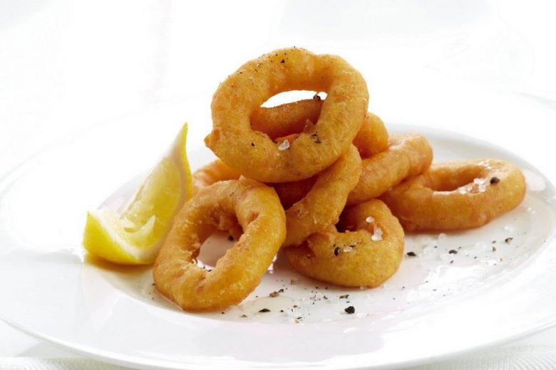 Battered Calamari Rings 500g