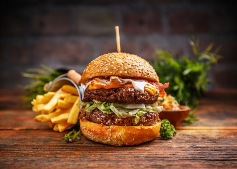 2 x 4oz Gourmet Angus Fillet Steak Burgers