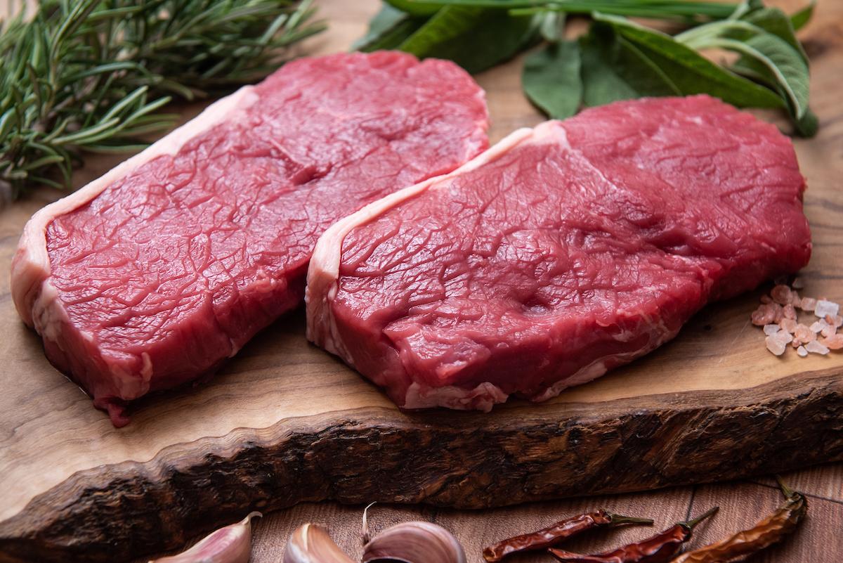 1 x 9-10oz / 255-283g British Grass Fed Sirloin Steak