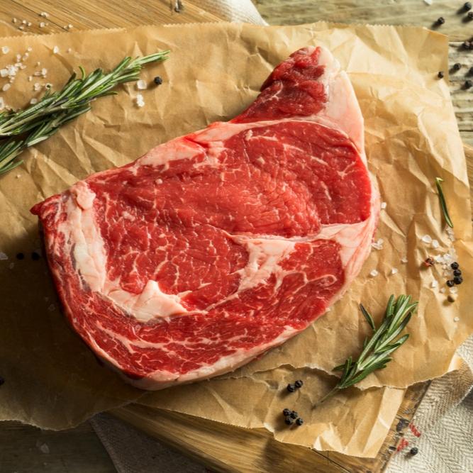 British Grass Fed Ribeye Steak 340g-392g / 12-14oz